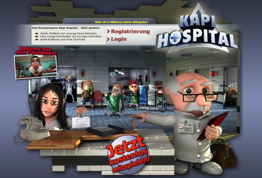 Baue dein eigenes Krankenhaus – Kapi Hostpital