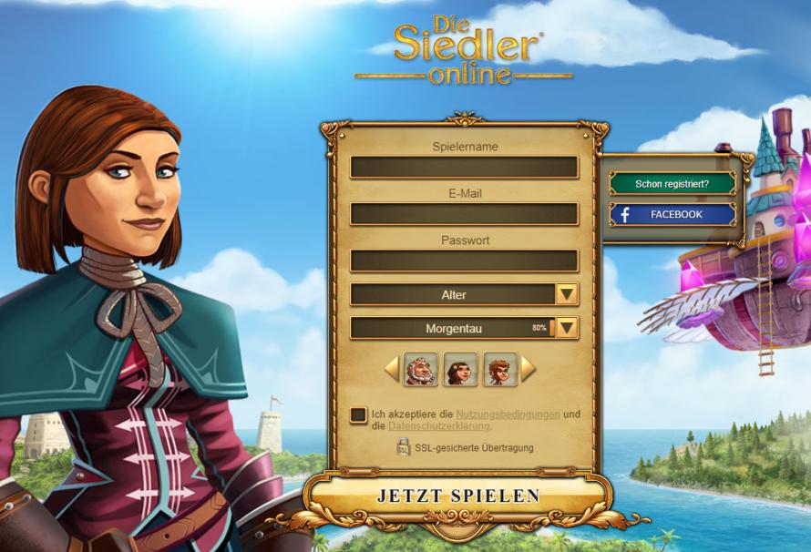 Errichte dein eigenes Königreich – Die Siedler Online